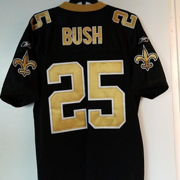 Reggie Bush Saints Reebok Jersey Size 48